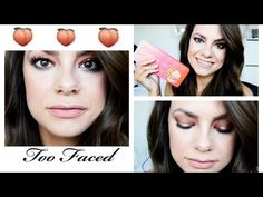 TOO FACED SWEET PEACH PALETTE | Tutorial & Review COMING SPRING 2016 - YouTube