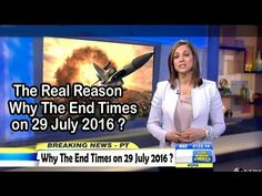 The Real Reason Why The End Times on 29 July 2016 . Shocking NEWS . - YouTube