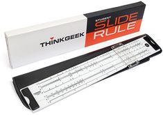 ThinkGeek Resurrects Slide Rule, Breathes Life Into Dead Technology For No Reason Whatsoever