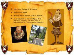 <ul><li>1605: Don Quijote de la Mancha </li></ul><ul><li>Publicó más obras </li></ul><ul><li>Murió el 22 de abril de 1616 ...