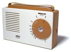 Exporter Radio by Braun 1956