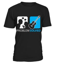 """# Problem Solved Guitar T-Shirts .  1279 sold towards goal of 1000Buy yours now before it is too late!Secured payment via Visa / Mastercard / PayPalHow to place an order:1. Choose the model from the drop-down menu2. Click on """"Buy it now""""3. Choose the size and the quantity4. Add your delivery address and bank details5. And that's it!"""