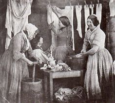 the victorian era! -Working in the victorian era! - Victorian Working Women, by Michael Hiley (Book Recommendation) Victorian Life, Victorian London, Victorian Photos, Victorian Women, Antique Photos, Vintage Pictures, Vintage Photographs, Old Pictures, Victorian Maid