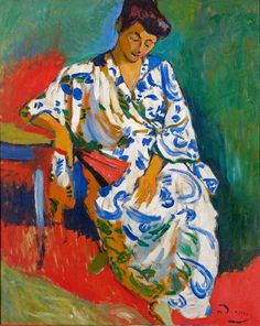 Madame Matisse au Kimono
