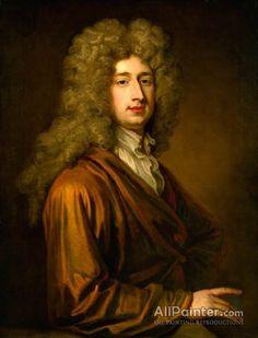 Sir Godfrey Kneller, Bt. John Dormer oil painting reproductions for sale