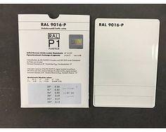 RAL 9016 kleurstaal
