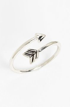 South Sun Arrow Wrap Midi Ring