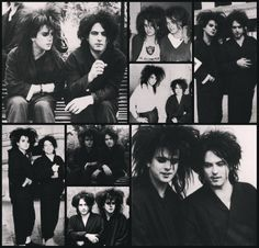 Robert Smith and Simon Gallup, The Cure