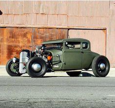"hotrodzandpinups: ""zeeman57: ""1928-29 Ford Model A Coupe - Hot Rod "" HRP """