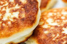 A breakfast staple gets lightened up with cheese .. go figure