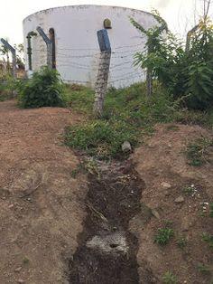 NONATO NOTÍCIAS: Bonfim: Água está jorrando no Bairro Alto da Rainh...