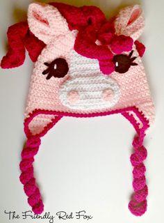 My Little Pony Free Crochet Hat Pattern