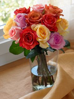 gamesinfomation.com Rainbow Rose Bouquet, EcoBlooms® Certified – Assorted Rose Bouquet coupon| gamesinfomation.com