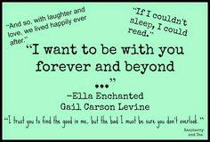 Ella Enchanted Quotes