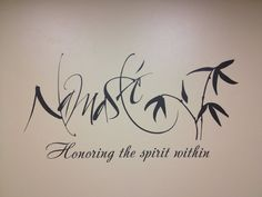 Hey, I found this really awesome Etsy listing at http://www.etsy.com/listing/160188334/namaste-quote-vinyl-wall-decal-home