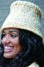 Crochet - Slanting Stitches Hat - ?Medium Worsted Weight [4] Yarn