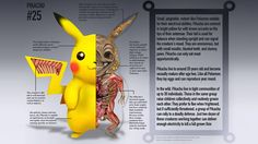 Pokémon Go's massive success proves that we all wish Pokémon were real. I don't have the science to back up this claim, so instead I'll letChristopher Stoll--the artist behind Disney Princesses as Avengers and A Natural History Of The Fantastic--bring the realism to these pocket monsters with his PokeNatomy art. These pieces bridge the gap between fantasy creatures and scientific reality, with a bit of humor thrown in for good measure. It reminds me of the children's books I had growing up…