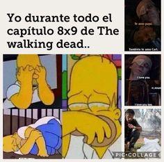 Memes The Walking Dead, Fear The Walking Dead, Chandler Riggs, Carl Grimes, Glenn Y Maggie, Walking Dead Wallpaper, Twd Memes, Humor, Netflix