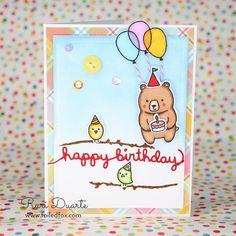 Happy Birthday card by Ruri Duarte