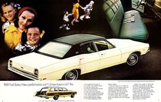Car Advertising, Ads, Car Brochure, Brochures, Ford, American, Vintage, Projects, Vintage Comics