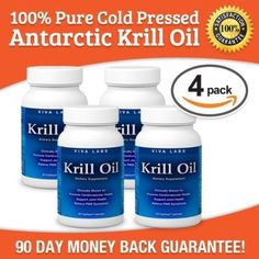 viva-labs-krill-oil-4-pack Krill Oil, Labs, Vitamins, Pure Products, Health, Health Care, Lab, Labrador Retrievers, Healthy