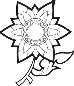 171 best clip art images on pinterest vectors free flower clipart rh pinterest com flower images clipart black and white Black and White Flower Graphics