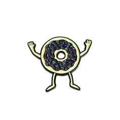 Donuts Pin by Gangster Doodles - Valley Cruise Press