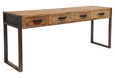 Colin 4-Drawer Console