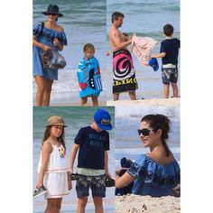 #RoyalsSpottedRF : The Danish Crown Princely Family was spotted spending time at the Byron Bay in Australia on December 28 2015.