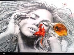 colkiko.art: Shakira portrait