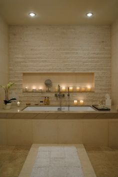We love the modern #bathroom and the spa feeling in this place.