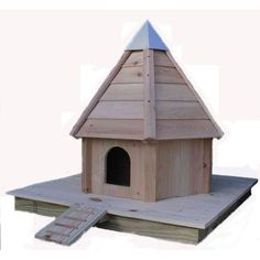 """Floating Duck House - base only.  If you have something you would like to float you can just purchase the base of our Floating Duck House, and the order includes the """"duck walk"""" for easy access."""