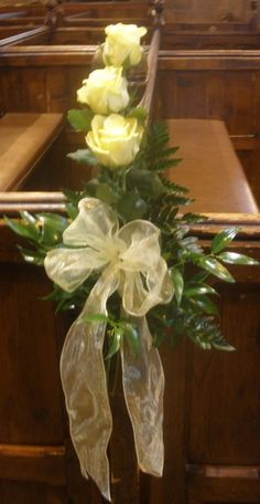 make church decorations for weddings - Google Search