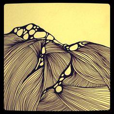 New style ink drawing www.stacylhenstridge.com