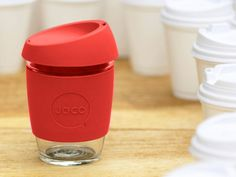 The reusable glass coffee cup from Australia that cares about everything from your taste buds to mother nature.