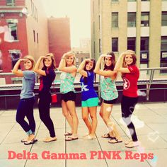 So cool meeting DGs from other schools all over the US! #victoriassecret #pink #pinkrep #campusrep #deltagamma #dg #anchored