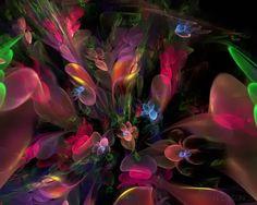 Abstract Fractal Art | Flowers Bouquet | Tutt'Art@ | Pittura * Scultura * Poesia * Musica |