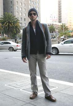 Very cute guy style.