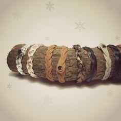 Anleitung: Armbänder flechten, die keine Öffnung haben, von Caro Beckmann / einzignahtig - Adventskalender-Türchen Nr.18 ~ Lila-Lotta