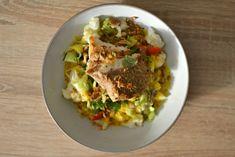 Filet de lieu noir au curry et au lait de coco : la recette facile et rapide