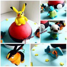- Pokemon fondant characters
