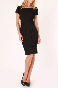 Nue by Shani Olivia Short Sleeve Dress