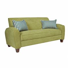 angelo:HOME Gordon Parisian Green Meadow Velvet Sofa   Overstock™ Shopping - Great Deals on ANGELOHOME Sofas & Loveseats