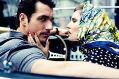 el arte de amar: bianca balti and david gandy by stephanie pfriender stylander for vogue hombre s/s 13   visual optimism; fashion editorials, shows, campaigns & more!