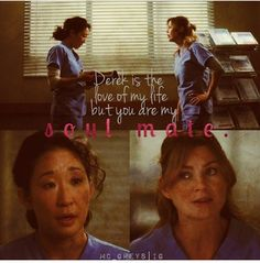 twisted sisters. Grey's Anatomy - Christina and Meredith