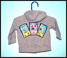 Boys Rockabilly Day of the Dead Hooodie....size 3-6 months by DollfaceBettys on Etsy