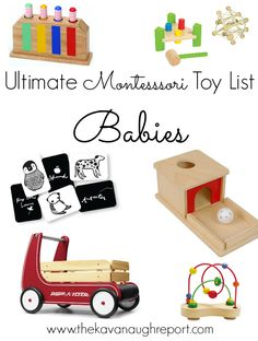 Montessori Toddler, Montessori Activities, Infant Activities, Toddler Preschool, Toddler Toys, Kids Toys, Montessori Playroom, Children's Toys, Family Activities