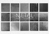 Free Metal Photoshop Brushes