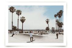 Santa Barbara Skate 3 by Kamala Nahas at minted.com