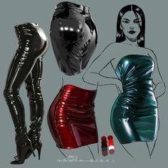 Digital Painting Tutorials, Digital Art Tutorial, Art Tutorials, Fashion Design Drawings, Fashion Sketches, Art Sketches, Fashion Illustrations, Drawing Reference Poses, Drawing Tips